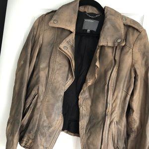 Muubaa Athena leather jacket size 6
